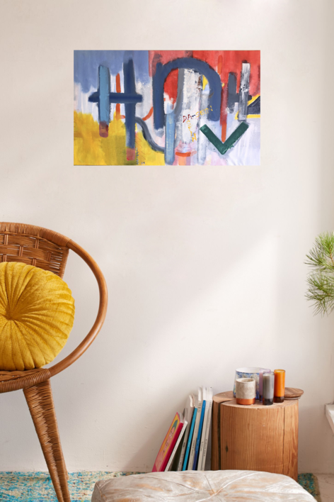 DA-SEIN IV | Pintura de Iraide Garitaonandia | Compra arte en Flecha.es