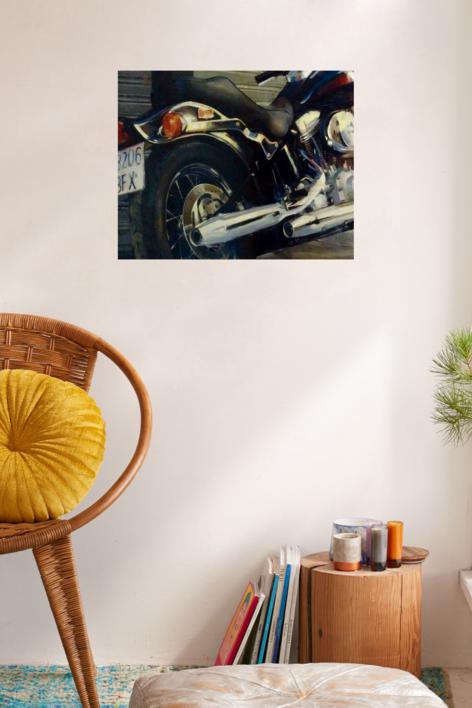 Protagonista de la acera | Pintura de Enrique Pazos | Compra arte en Flecha.es