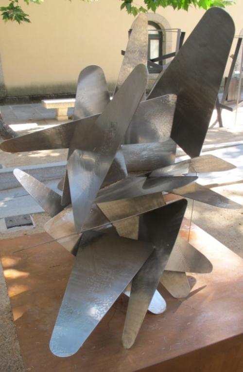 Grullas por Fukushima II  Escultura de Raquel Fernández Santos   Compra arte en Flecha.es