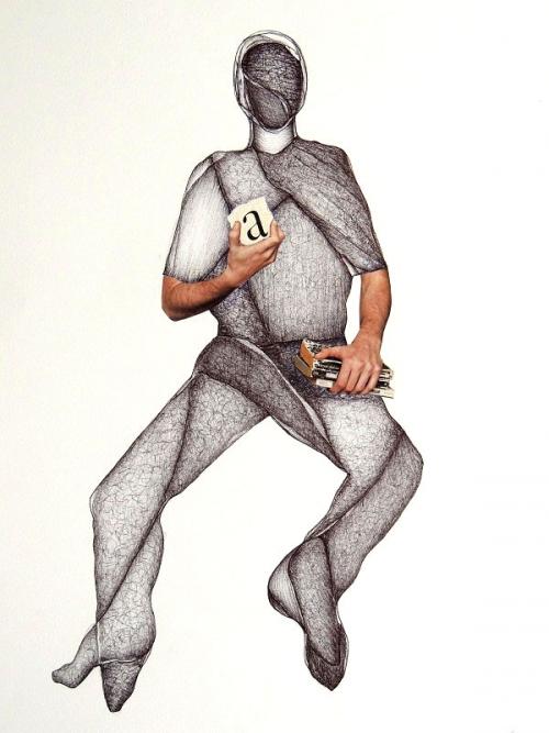 Pantocrator |Collage de Merche Chia | Compra arte en Flecha.es