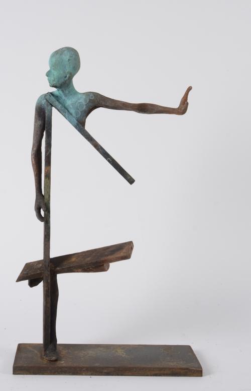 Cuatro |Escultura de Jesús Curiá | Compra arte en Flecha.es