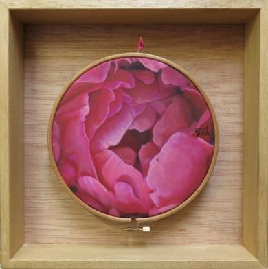 Flores Habitadas IV|PinturadeCarmen Varela| Compra arte en Flecha.es