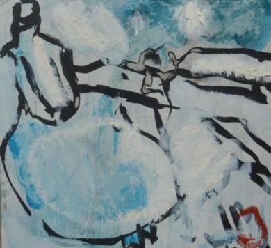 El Señor y la Señora Andrews (cartón V)|PinturadeCelia Muñoz| Compra arte en Flecha.es