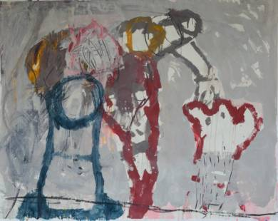 El Señor y la Señora Andrews III|PinturadeCelia Muñoz| Compra arte en Flecha.es