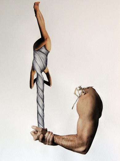 No te Muevas|CollagedeMerche Chia| Compra arte en Flecha.es