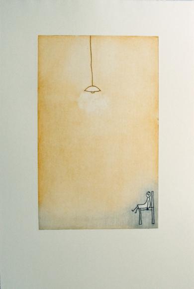 Quédate ahí|Obra gráficadeAna Valenciano| Compra arte en Flecha.es
