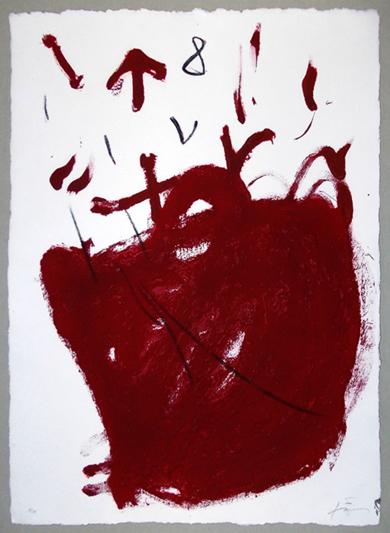 Carmí 8.|Obra gráficadeAntoni Tàpies| Compra arte en Flecha.es
