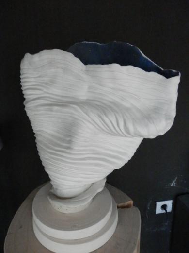 Coral Azul|EsculturadeCarmen Vila| Compra arte en Flecha.es