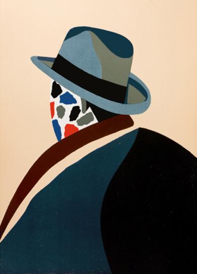Parmi les peintres|Obra gráficadeEduardo Arroyo| Compra arte en Flecha.es