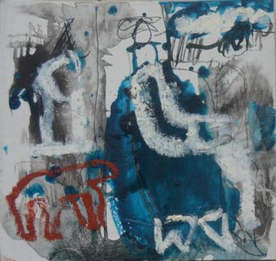 El Señor y la Señora Andrews (cartón IV)|PinturadeCelia Muñoz| Compra arte en Flecha.es