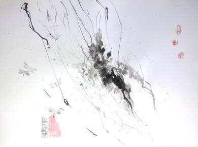 Ramas de Cerezo Llorón y Roca|PinturadeMartmina| Compra arte en Flecha.es