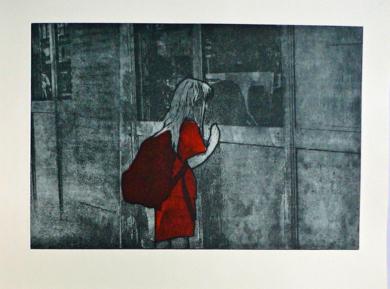 El Escaparate|Obra gráficadeAna Valenciano| Compra arte en Flecha.es