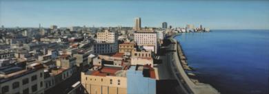 La Habana|PinturadeBorja Abós| Compra arte en Flecha.es