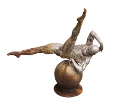 Atlas EsculturadeCésar  Orrico  Compra arte en Flecha.es