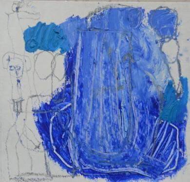 El Señor y la Señora Andrews (cartón VII)|PinturadeCelia Muñoz| Compra arte en Flecha.es