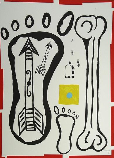 1989-9|Obra gráficadeJuan Alcalde| Compra arte en Flecha.es
