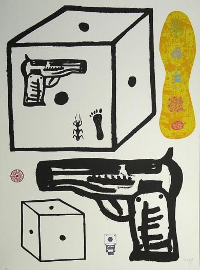 1989-10|Obra gráficadeManuel Alcorlo| Compra arte en Flecha.es