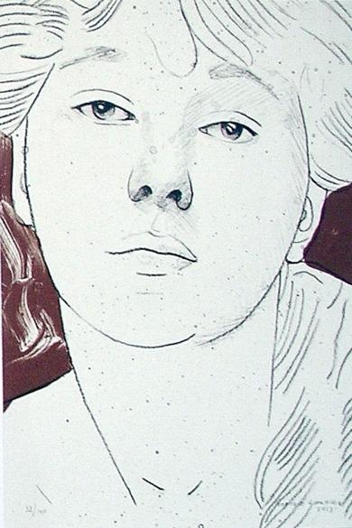 Retrato I|Obra gráficadeEnrique González (TDP)| Compra arte en Flecha.es