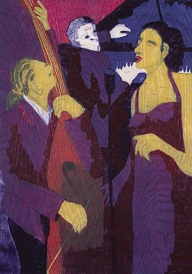 El Trio I|Obra gráficadeJenifer Elisabeth Carey| Compra arte en Flecha.es