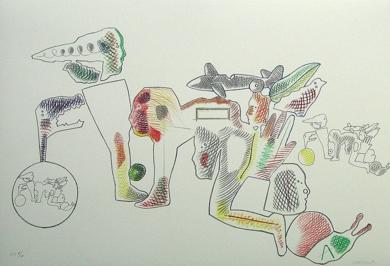Sin título Obra gráficadeJorge Castillo  Compra arte en Flecha.es