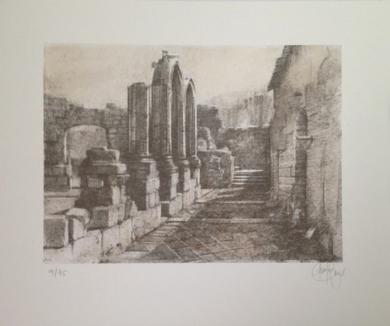 Monasterio de San Pelayo (IV)|Obra gráficadeLuis Javier Gayá| Compra arte en Flecha.es