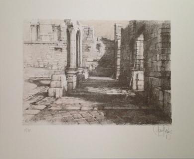 Monasterio de San Pelayo (V)|Obra gráficadeLuis Javier Gayá| Compra arte en Flecha.es