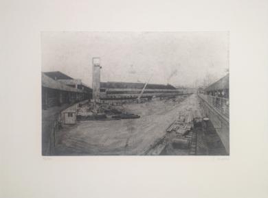 Atocha renacida|Obra gráficadeCarlos Gonçalves| Compra arte en Flecha.es