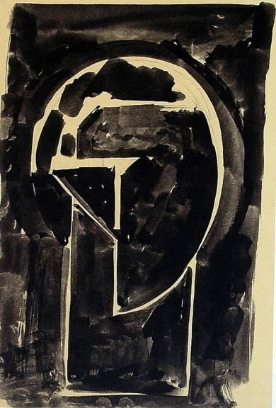 Homenaje a Julio González|Obra gráficadeRafael Canogar| Compra arte en Flecha.es