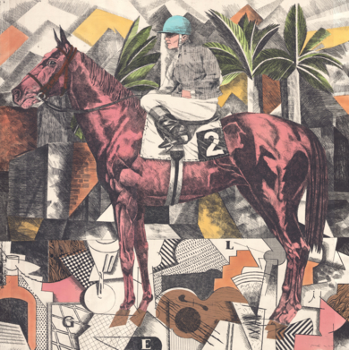 Serie Historia de una Carrera: Braque, Picasso & Gris|Obra gráficadeFernando Bellver| Compra arte en Flecha.es