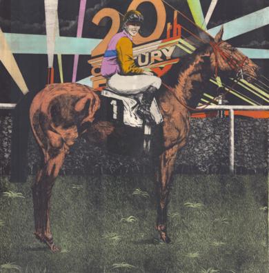 Serie Historia de una Carrera: 20th. Century Fox & McLean|Obra gráficadeFernando Bellver| Compra arte en Flecha.es