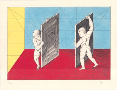 Venus del Espejo|Obra gráficadeGuillermo Pérez Villalta| Compra arte en Flecha.es