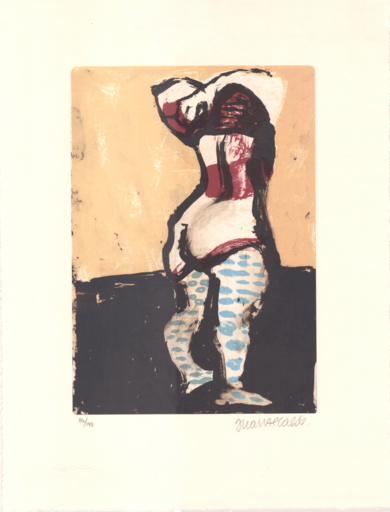 Figura femenina|Obra gráficadeJuan Alcalde| Compra arte en Flecha.es