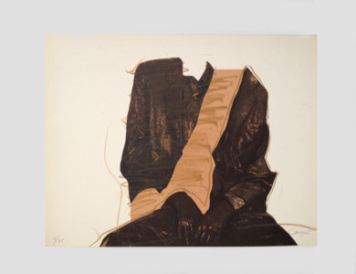 Figura sentada|Obra gráficadeRafael Canogar| Compra arte en Flecha.es