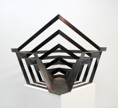 Entra y fuga|EsculturadeCarlos I.Faura| Compra arte en Flecha.es