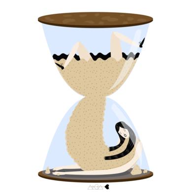 procrastinación|DigitaldeAlba Blázquez| Compra arte en Flecha.es