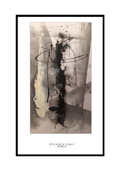 Danza|Obra gráficadeAlejandro Lopez| Compra arte en Flecha.es