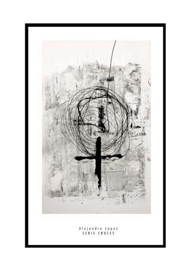 Cruz|Obra gráficadeAlejandro Lopez| Compra arte en Flecha.es