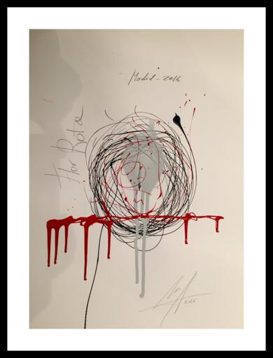 Flor rota|Obra gráficadeAlejandro Lopez| Compra arte en Flecha.es