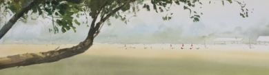 Sombra de árbol|PinturadeIñigo Lizarraga| Compra arte en Flecha.es
