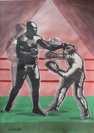 Combate 2|DibujodeManuel Sánchez-Algora| Compra arte en Flecha.es