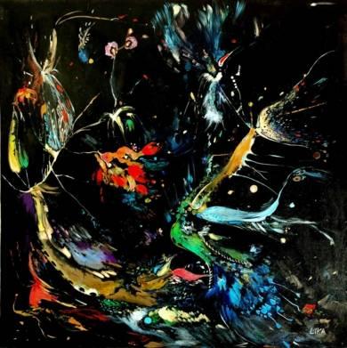 Randevue por la noche|PinturadeLika| Compra arte en Flecha.es