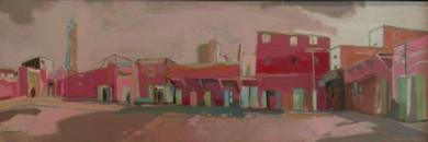 DE VUELTA DEL DESIERTO|PinturadeCarlota Rios| Compra arte en Flecha.es