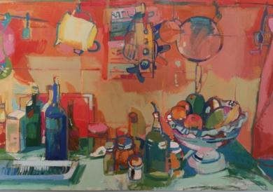 VASAR DE COCINA|PinturadeCarlota Rios| Compra arte en Flecha.es