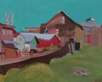 DESPUÉS DE LA LLUVIA...COLORES|PinturadeCarlota Rios| Compra arte en Flecha.es
