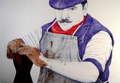 Alfarero|DibujodeMarisa  Armero| Compra arte en Flecha.es