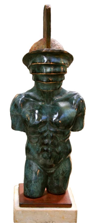 TORSO DE GLADIADOR|EsculturadeJavier Rodanés| Compra arte en Flecha.es
