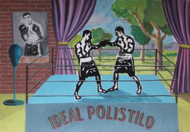 Gimnasio Ideal Polistilo|PinturadeManuel Sánchez-Algora| Compra arte en Flecha.es