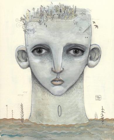 El Pueblo|CollagedeBran Sólo| Compra arte en Flecha.es