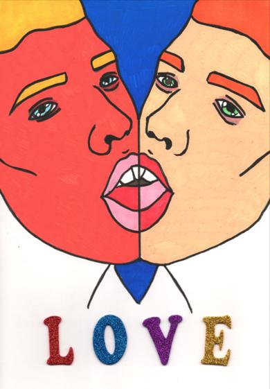 Love|CollagedeBorja Casterad| Compra arte en Flecha.es