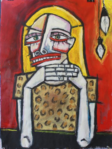Lucrecia|PinturadeVeo blasco| Compra arte en Flecha.es